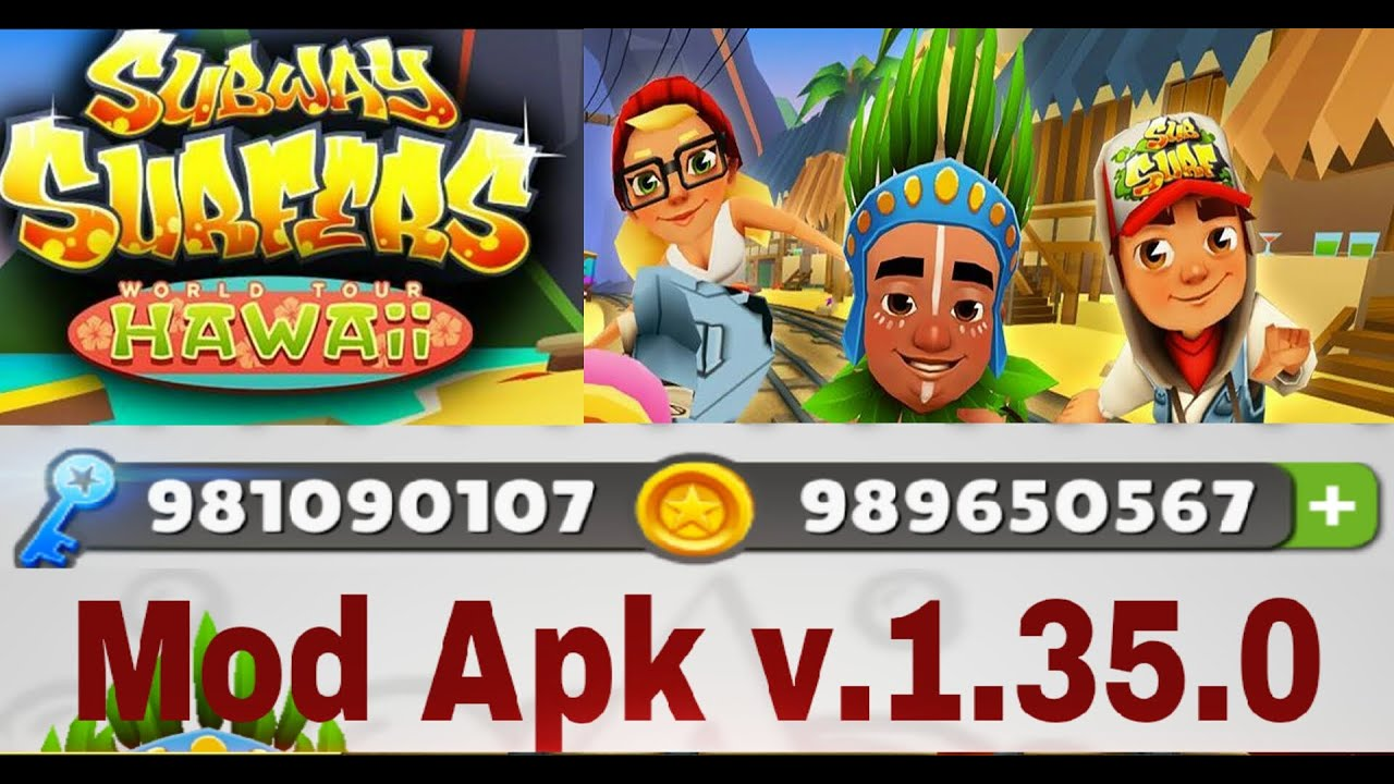 Hacked Subway Surfers Android - YouTube