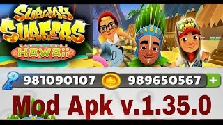 Subway Surfers Hawaii Hack, Mod Apk (v.1.35.0)