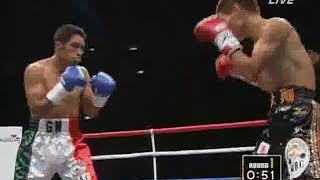 長谷川穂積 vs ヘラルド・マルチネス(WBC世界バンタム級タイトルマッチ)1/2