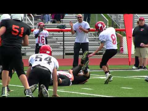 Corry 6 vs Fairview Tigers 2 - Middle School Football highlights