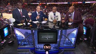 Cavaliers vs Celtics Game 4 Halftime Report | Inside The NBA | May 23, 2017