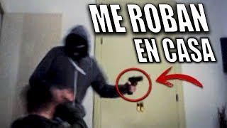 entran a robar en mi casa con una pistola y me pegan