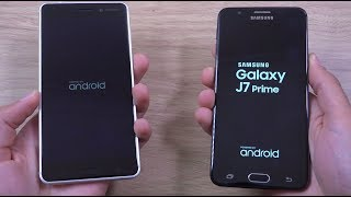 Nokia 6 vs Samsung Galaxy J7 Prime - Speed Test!