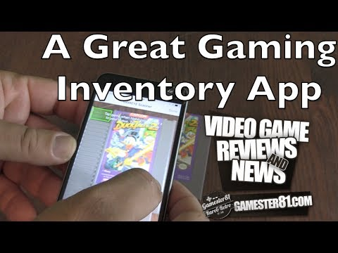 GAMEYE - A Great Gaming Inventory App - Gamester81