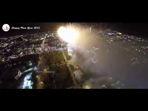 Pháo Hoa TP Cao Lãnh 2015 [ Flycam ]