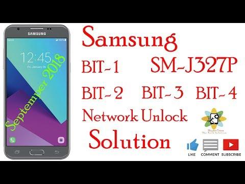 Samsung SM-J327P U1-U2-U3-U4 Network Unlock Solution - YouTube