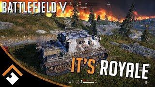 Battlefield V Firestorm: It's ... R O Y A L E