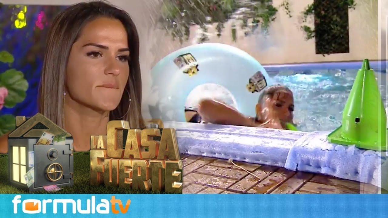 La casa fuerte: ¿Hubo tongo en la prueba de asaltantes en la piscina con Cristina? - El diario