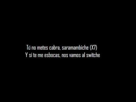 Bad Bunny - Tu No Mete Cabra - Letra