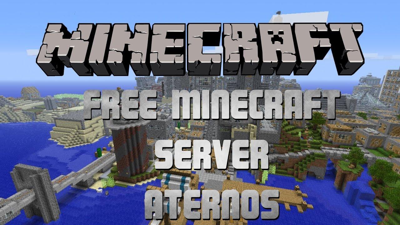 Kostenlosen Minecraft Server erstellen - Aternos - YouTube