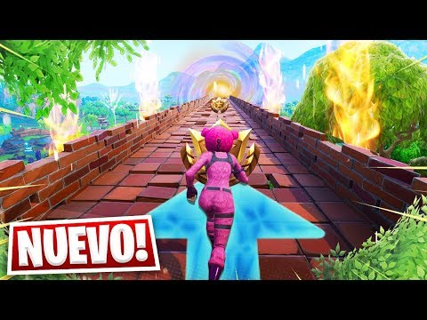NUEVO TEMPLE RUN en FORTNITE *MINIJUEGO 99% IMPOSIBLE* - AlphaSniper97