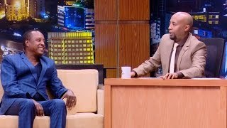 ETHIOPIA : Seifu on EBS Show Interview with Artist Tsegaye Sime - April 11, 2017