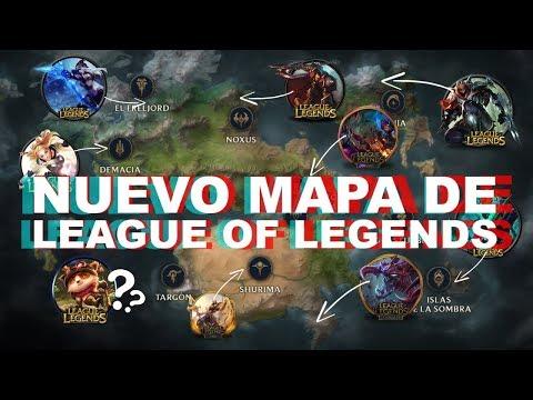 TE EXPLICO EL NUEVO MAPA DE LEAGUE OF LEGENDS COMPLETO | Videoreacción y análisis con Halo thumbnail