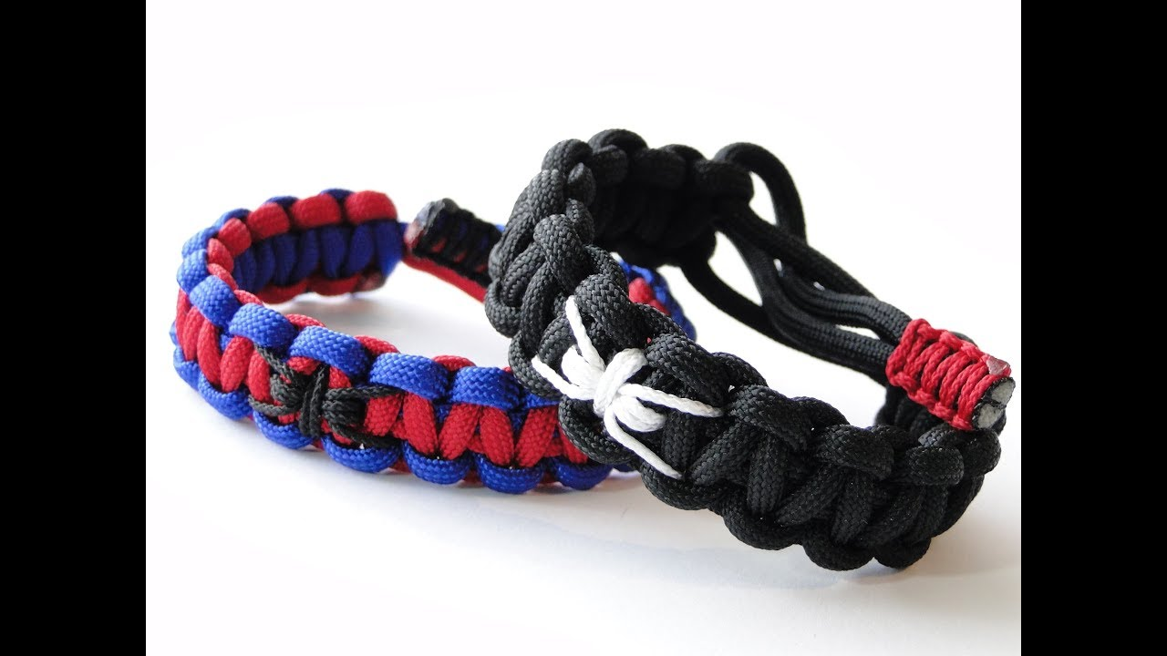 Spiderman Paracord Bracelet Must Send Wrist Size