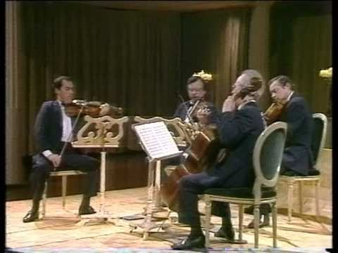 Tchaikovsky String Quartet No.1 in D - Mvt 2 (Andante cantabile) -  Borodin Quartet