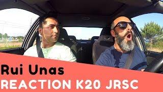 """RUI UNAS """"O LORD"""" - Reaction To Honda Civic VTi EG9 K20 SuperCharger [ENG SUB]"""