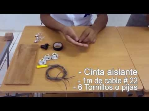 Tutorial de como realizar un circuito eléctrico mixto