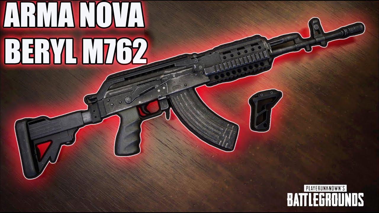 M762 Pubg: BERYL M762 INSANA!! A ARMA NOVA É APELAÇÃO !!