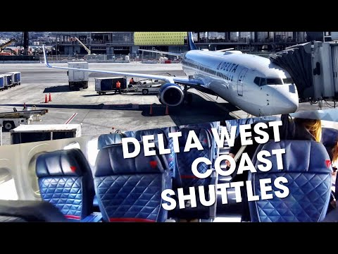 DELTA AIRLINES - Hopping down the California Coast