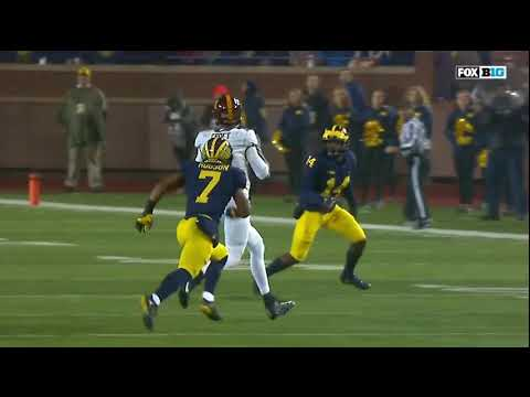 2017 Michigan Football Highlights v Minnesota