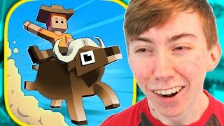 Rodeo Stampede Sky Zoo Safari Iphone Gameplay Video