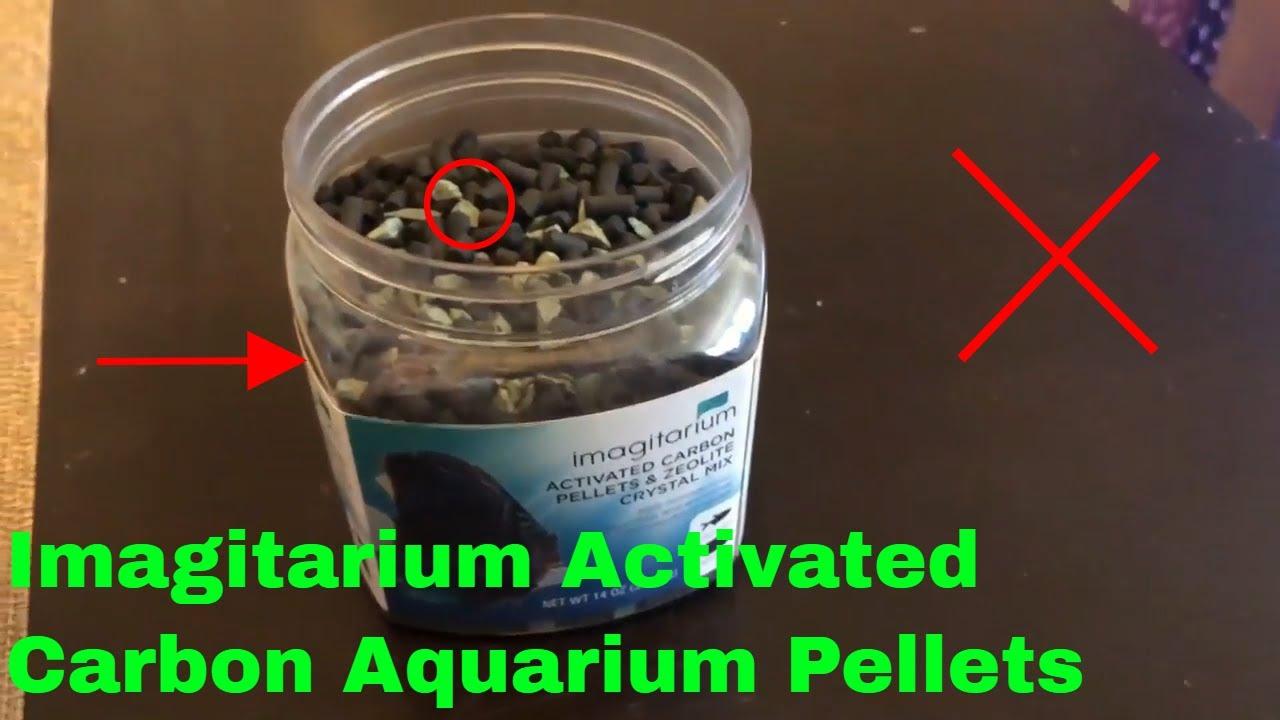 how to use imagitarium activated carbon aquarium pellets review