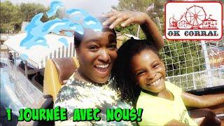 UNE JOURNÉE AVEC NOUS à OK CORRAL ! Le plus grand Parc d'attraction du sud de la France