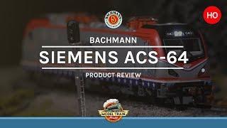 HO Scale Bachmann Siemens ACS-64