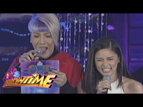 It's Showtime Miss Q & A: Vice Ganda sings