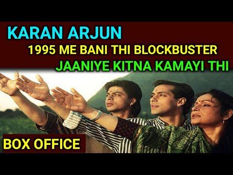 Karan Arjun Box Office Collection, Salman Khan and Shahruk Khan 1st Blockbuster Movie