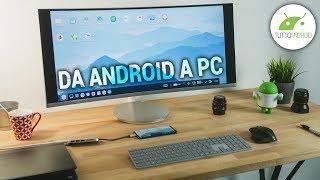 TRASFORMARE lo SMARTPHONE ANDROID in un PC | GUIDA | ITA | TuttoAndroid