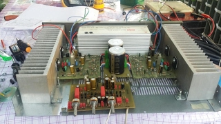 2x100w High End audio AMPLIFIER, diy, hifi, amplificator, schematic, circuit ,class A B no  tube  1