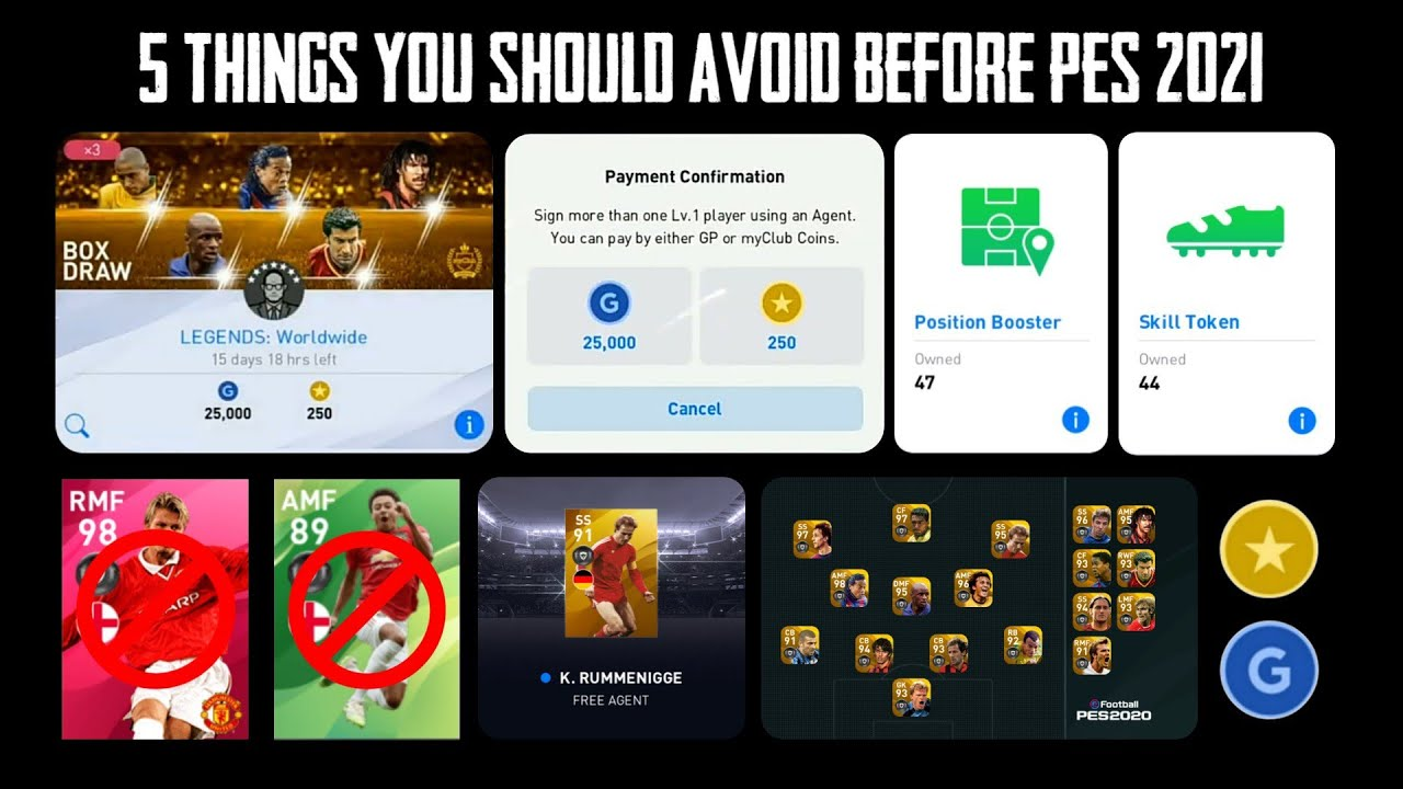 5 Things You Should Avoid Before App V 5.0.0 Updation In Pes 2020 Mobile