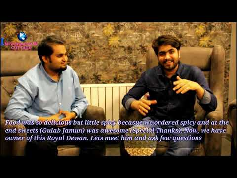 Royal Dewaan Pakistani Restaurant in Ankara Turkey (Episode #01)