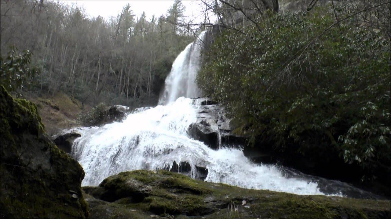 Flat Creek Falls, Nantahala National Forest, Jackson ...