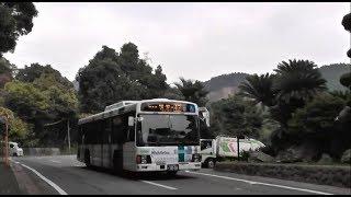 玉泉寺前バス停付近 西鉄バス