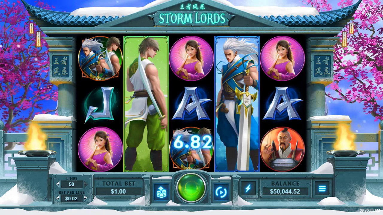 Storm Lords Rtg Slots Feel The Power Of The Storm Lords In The