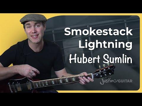Riff #2: Smokestack Lightnin - Hubert Sumlin (Songs Guitar Lesson BS-521) How To Play
