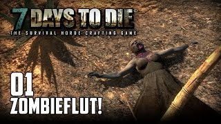 7 Days to Die [01] [Zombieflut] [Double Team] [Let's Play Gameplay Deutsch German HD] thumbnail