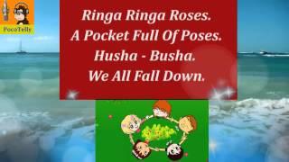 Ringa-Ringa-Roses....Sung By Sophia | Animated Nursery Rhymes Karaoke By PocoTelly