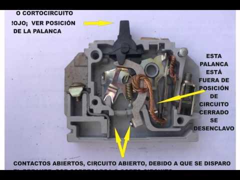 Breaker O Interruptor Termomagn 201 Tico Funcionamiento Youtube