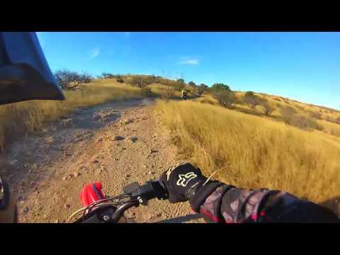 Dirt Bike Riding Redington Pass in Tucson, Arizona