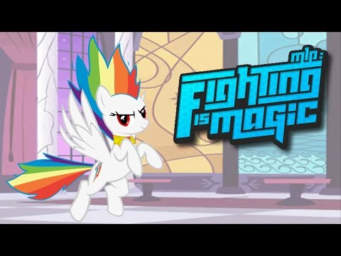 Fighting Is Magic MIX Builds - Tribute Dimension #5/6 - Rainbow Dash
