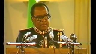Mobutu sese Seko-  Discours du  24 avril 1990  a N