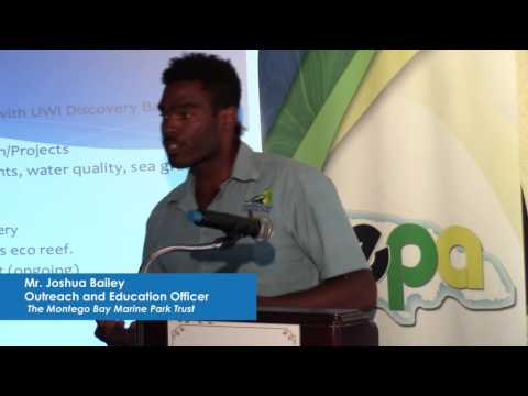 UNDP Jamaica: NPAS Grantee, Bailey of Montego Bay Marine, on link between Tourism & Protected Areas