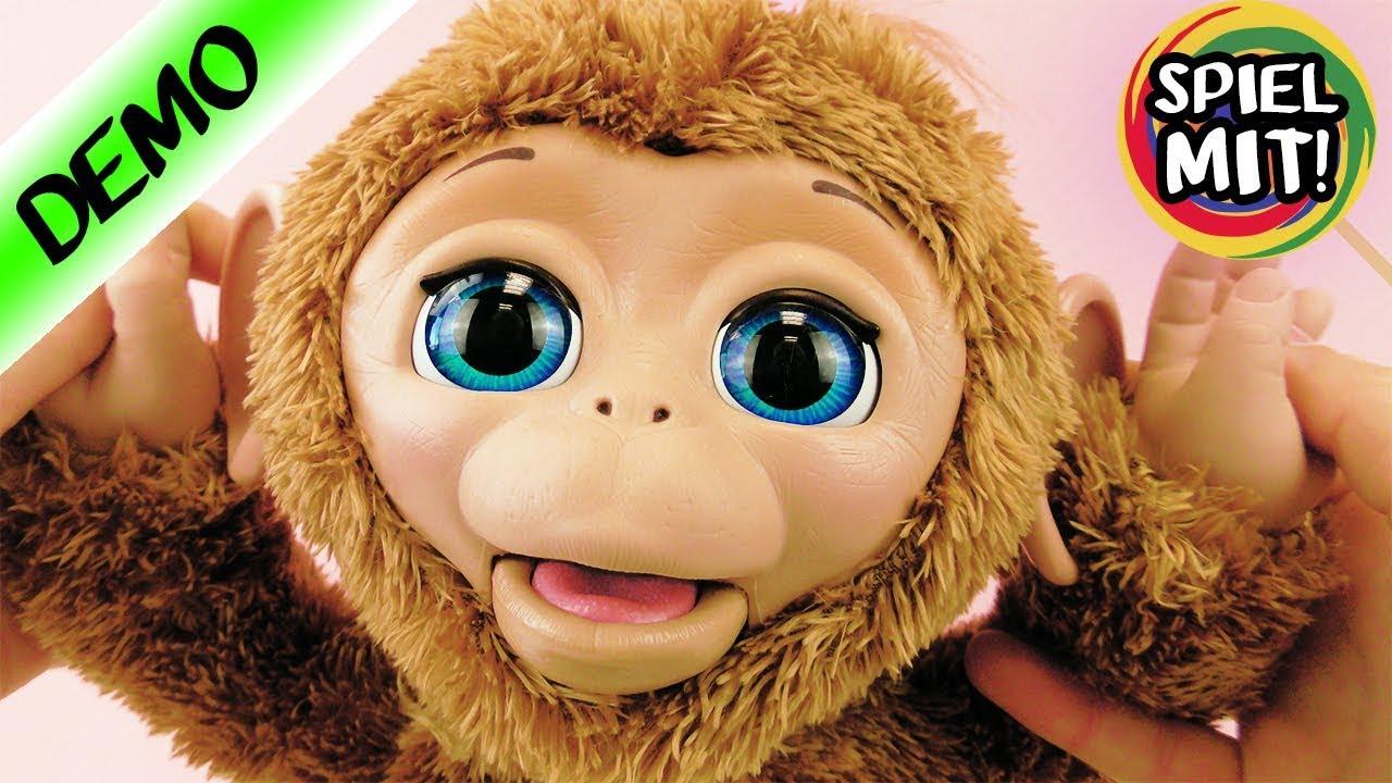 Furreal Friends Mein Baby Affe Cuddles Deutsch Elektronisches