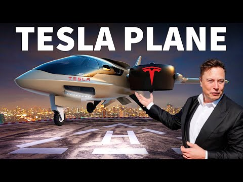 Tesla's INSANE NEW Electric Aircraft Revealed!