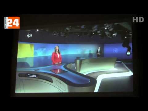 NDR  HD-Tagesschau-Studio Hamburg - ARD aktuell Besichtigung