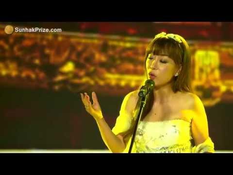 Soprano Sumi Jo - Adagio (The inaugural Sunhak Peace Prize Ceremony Congratulatory Song)
