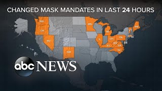 States decide on differing mask mandates after CDC announcement | WNT